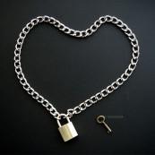合金项链 / 黄铜锁